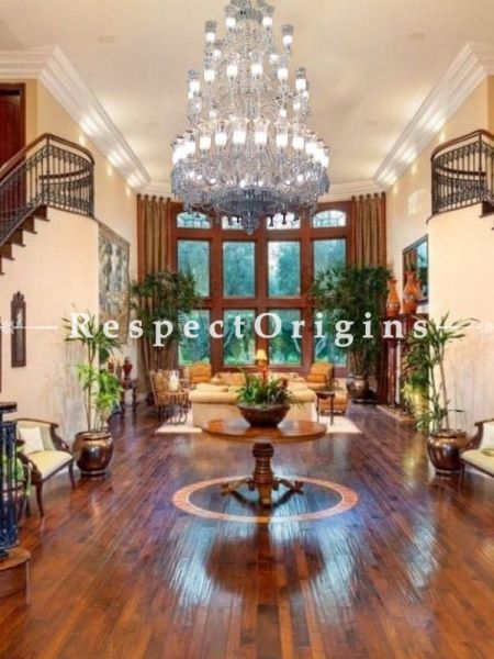 Buy Palatial 42 Lamp Tiered Glass Chandelier Lights. At RespectOriigns.com