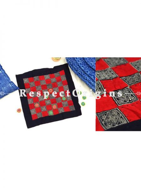 Buy Checkers Handmade With Patchworkon Naturally Dyed Cotton at RespectOrigins.com