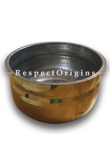 Chemba Patram ;Brass Pot With Tin Coating; RespectOrigins.com