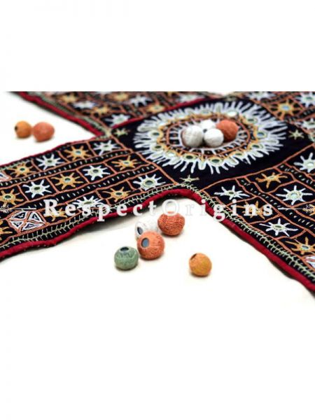 Buy Chopad Handmade With Rabari Embroidery On Naturally Dyed Cotton at RespectOrigins.com