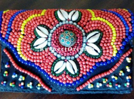 Buy Myrial Colors in Floral Design Ladhaki Clutch at RespectOrigins.com
