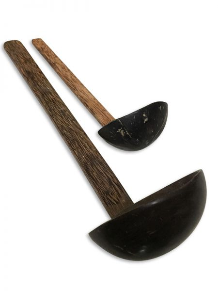 Coconut Shell Ladle; Set Of 2; RespectOrigins.com