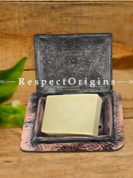 Buy Adorable Copper Vintage Soap or Butter Dish With lid At RespectOrigins.com