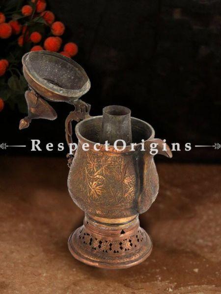 Buy Gorgeous Copper Kashmiri Kehwa Samovar Tea Kettle At RespectOrigins.com