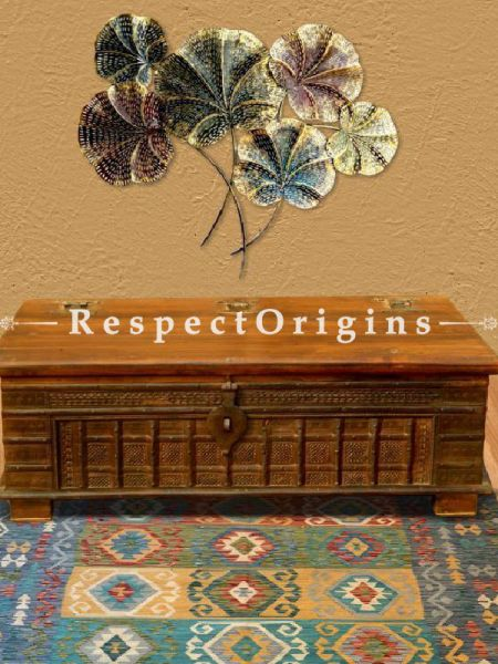 Buy Rustic Teak Wood Dowry Chest At RespectOriigns.com