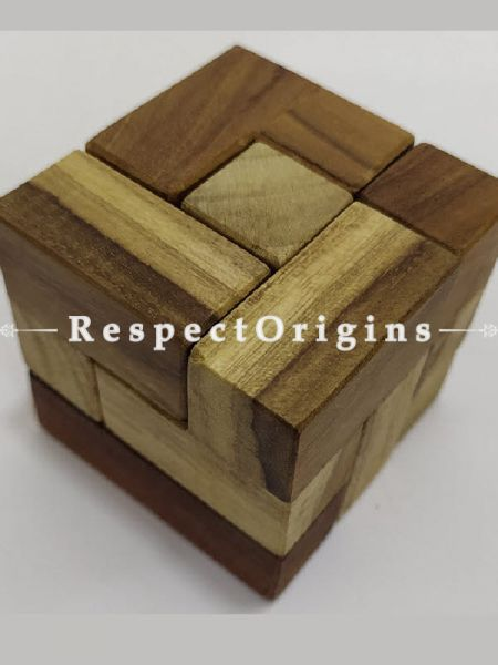 Buy Cube Shaped Puzzle Online At Low Prices at RespectOrigins.com