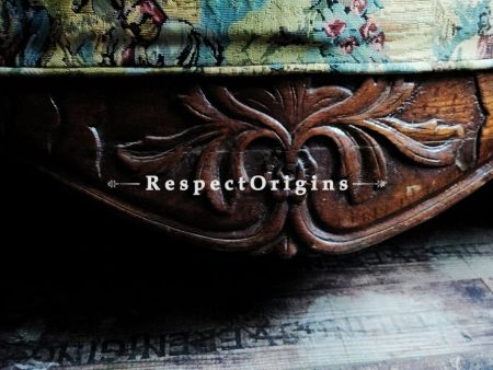 French Louis XVI Love/seat: Original Tapestry; RespectOrigins.com