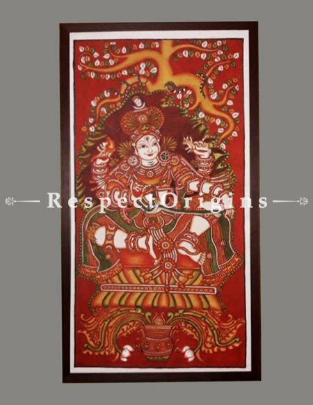 Buy Dakshinamurthy - Kerala Mural Art- Lord Shiva- Painting 44x23;RespectOrigins