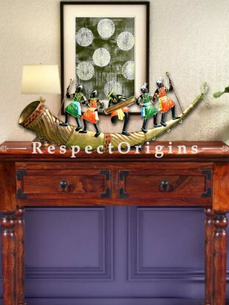 Buy Folk Performers in Wrought Iron, 9x26x1 in At RespectOrigins.com