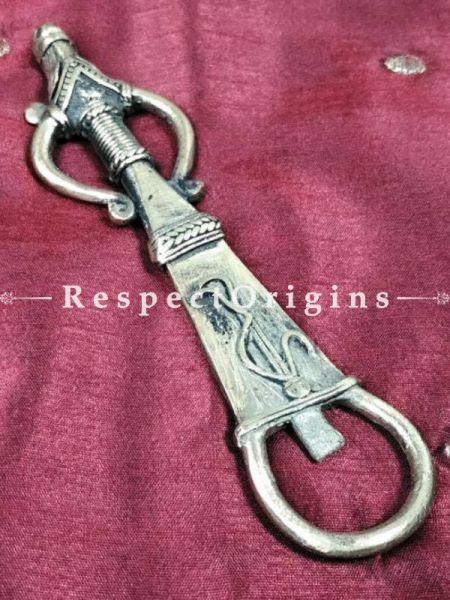 Buy Vintage Indian Dhokra Art Design Figurative Brass Bottle Opener; Tribal Made; Handcrafted Bar Accessories At RespectOrigins.com