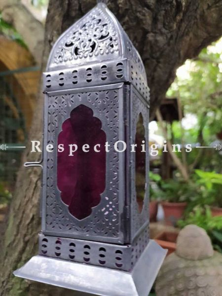 Moroccan Hanging/ Table Lantern; Handicrafts; Copper; Dhokra ; RespectOrigins.com