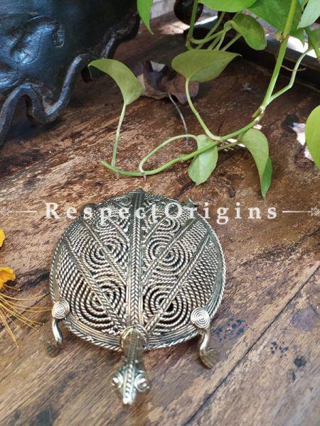 Dhokra Tortoise; Feng Shui & Vastu Enhancer  ; RespectOrigins.com