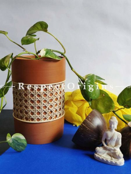 Buy Discoid Terracotta Planter At RespectOrigins.com