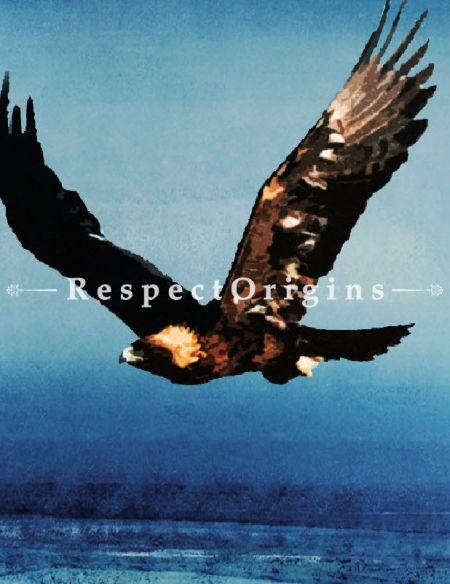Original art|Pure Art|Fine Art|Big Eagle paintings|RespectOrigins