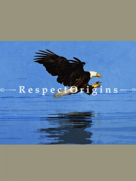 The Bald Eagle Painting - 28 In x 21In