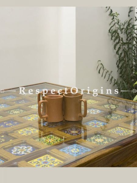 Buy Set of 4 Terracotta Coffee Mug(150 ml) At RespectOrigins.com