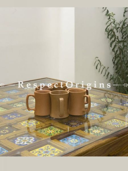 Buy Set of 6 Terracotta Coffee Mug (150 ml) At RespectOrigins.com