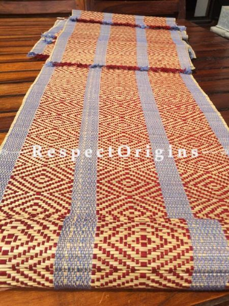Buy Table Mats Online|Chemical free; Set of 6 table mats and a table runner; Kora Grass|RespectOrigins.com