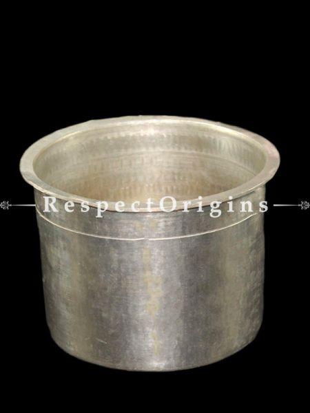 Traditional Handmade Tin Eeya Chombu/Tin Rasam Vessel -Pr-50222-70469