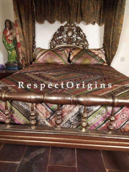 Buy Elegant Four Poster King Size Bed in Burma Teak At RespectOrigins.com