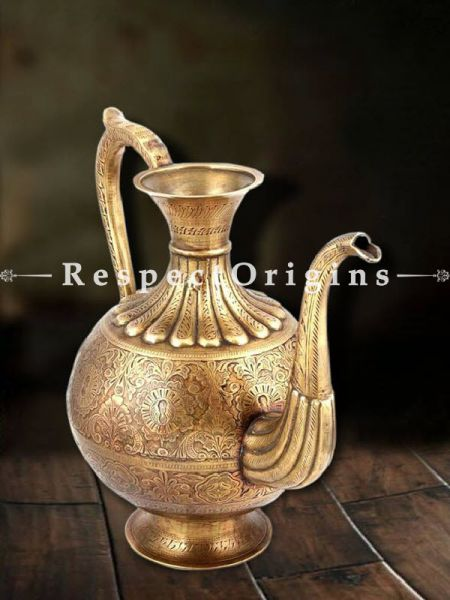 Buy Engraved Copper Pitcher At RespectOrigins.com