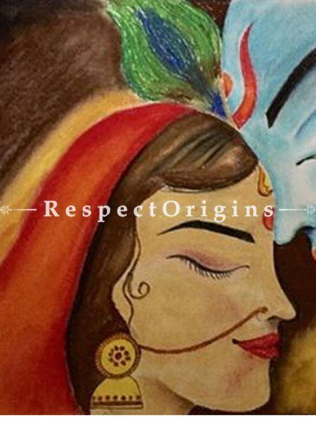 Eternal Love; Painting - 24In x 15In Pastel On Paper.