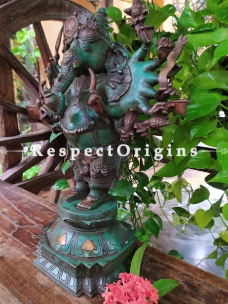 Buy Ganesha The Obstacle Remover Bronze Statue At RespectOrigins.com
