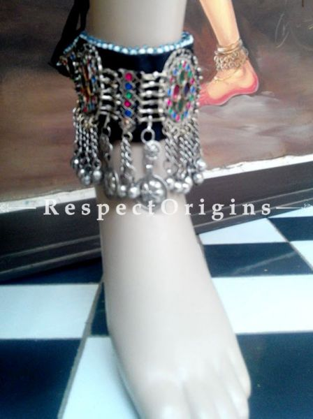 Beautiful German Silver Choker Anklets, RespectOrigins.com