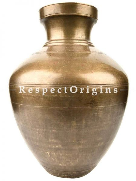 Buy Classic South Indian Water Storage Brass Pot At RespectOrigins.com