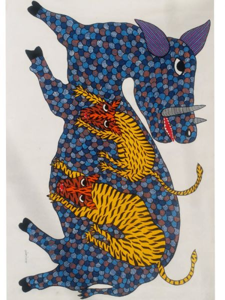 Animal Merge with each other ; 2*3 Ft; RespectOrigins.com