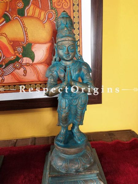 Buy Graceful Bronze Statue of Sivagami ; 18 Inches At RespectOrigins.com