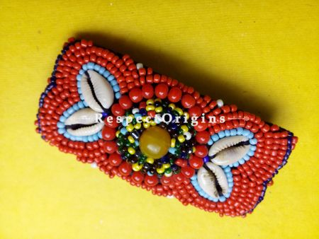 Buy Handmade Red Coral Beads Ladakhi Hair Clips at RespectOrigins.com