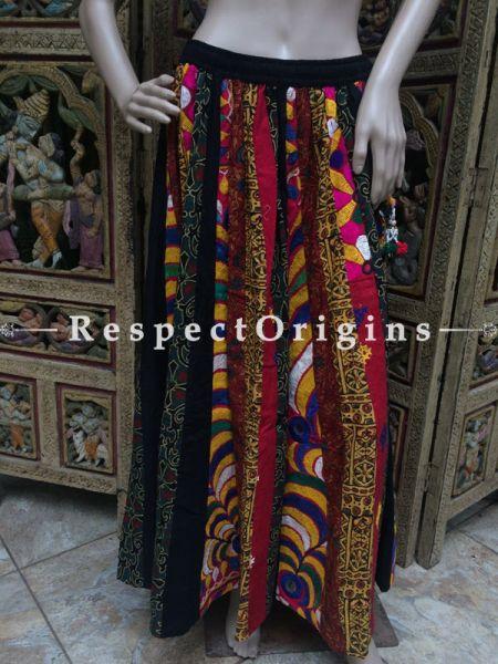 Buy Hand Block Printed Cotton Long Skirt at RespectOrigins.com