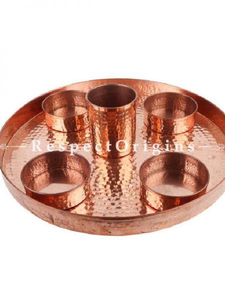 Buy Set of SixPieces Hand Hammered Copper Dish At RespectOrigins.com
