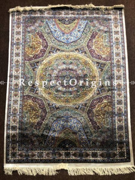 Buy Silk On Silk Carpet Size: 5x7 At RespectOriigns.com