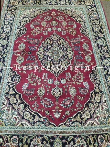Buy Pure Silk Kashmiri Carpet; 5x7 Ft At RespectOriigns.com