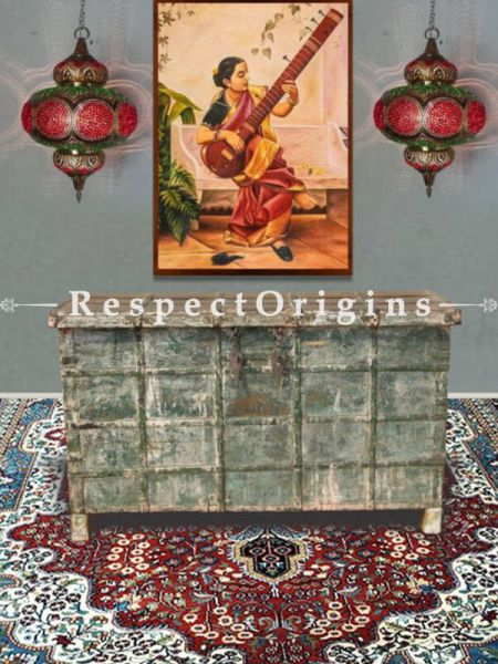 Buy Kashmiri Carpet Hand Knotted in Pure Silk; 5x7 Ft Feet At RespectOriigns.com