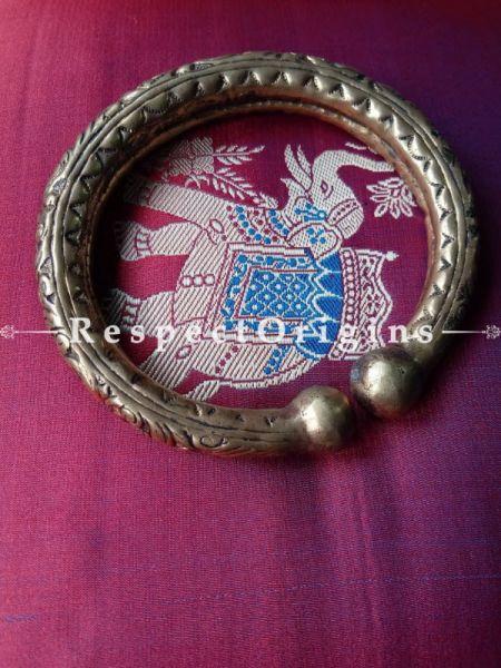 Buy Single Engraved Bangle - Brass; Bracelet Women - Everyday Bangle at RespectOrigins.com