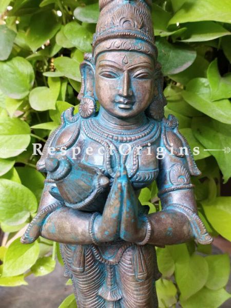 Buy Fabulous Sivagami Bronze Statue; Artwork or Deity ; 18 Inches At RespectOrigins.com