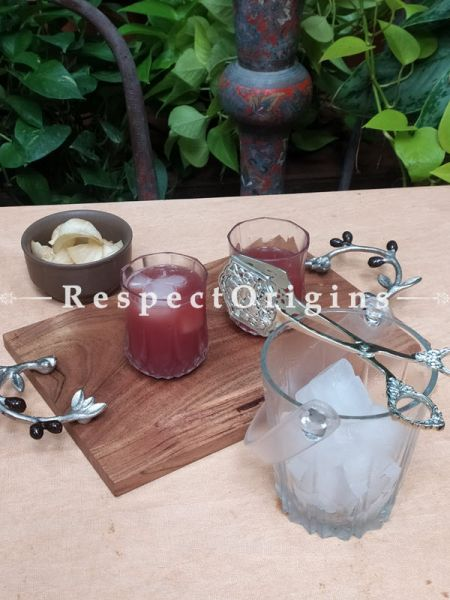 Luxurious Handcrafted Designer Ice Tongs For Bar Set; 7 Inches; RespectOrigins.com