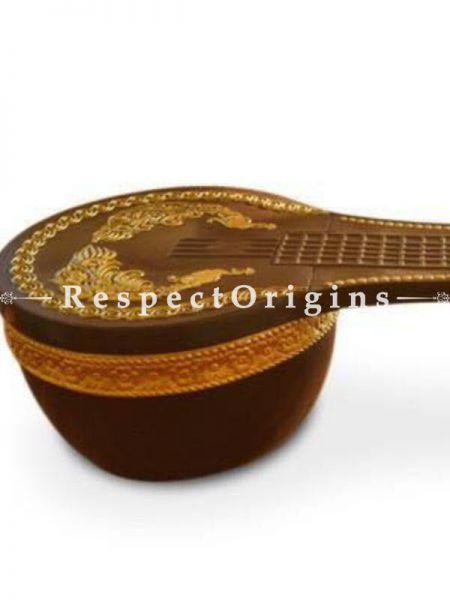 Buy Handcrafted Veenai Table; Fiber At RespectOrigins.com