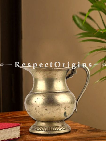 Buy Handmade Brass Jug With Handle Water Pitcher or Vase At RespectOrigins.com