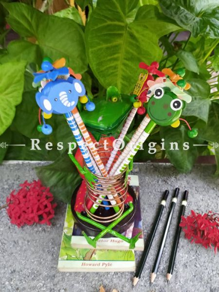 Buy Joker and Key Chain Set; Channapatna Toys; Safe and non-toxic Colors At RespectOrigins.com