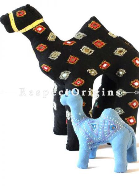 Buy Camel Toys Handmade And Hand Embroidered On Naturally Dyed Cotton at RespectOrigins.com
