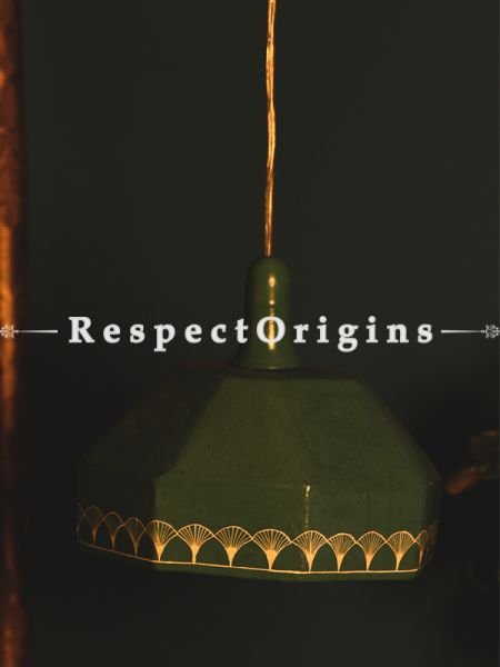 Buy Hanging Lamp; 8.5 Inches Length,10.5 Inches Height  at RespectOrigins.com