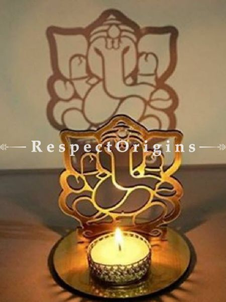 Buy Ganesha; Candles Stand. Size 4x4in At RespectOrigins.com