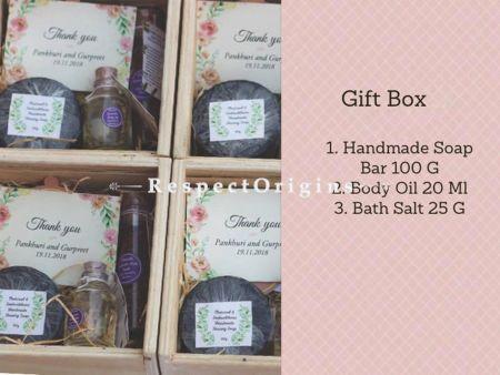 Romance Gift Set; Handmade Soap,Body Oil and Bath Salt; RespectOrigins.com