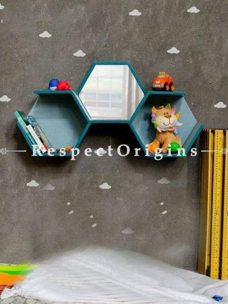 Buy Honeycomb Wall Shelf Mirror At RespectOrigins.com