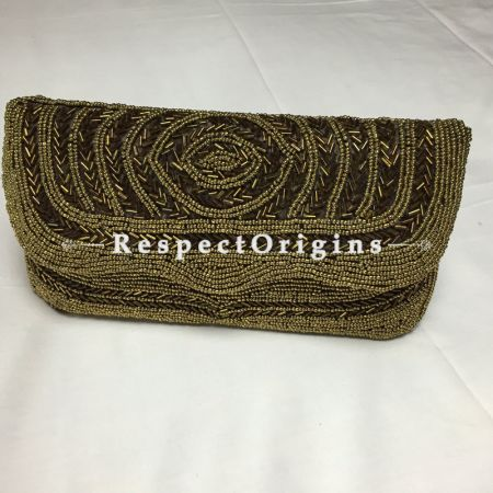 Buy Soft Hues of Metallic threadwork Clutch at RespectOrigins.com