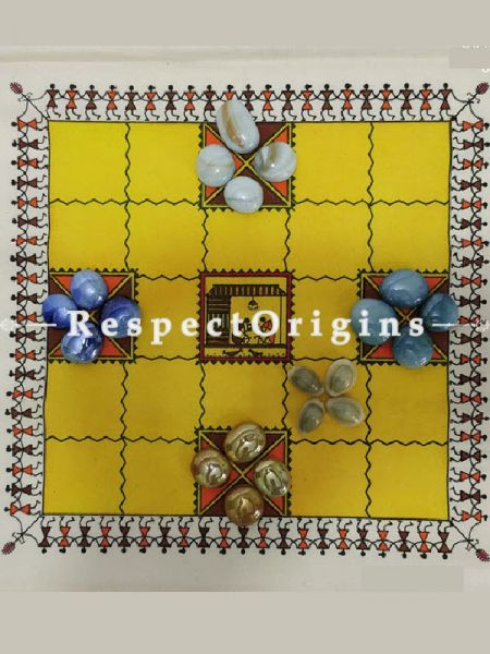 Buy Traditional Indian Board Choukabara Game at RespectOrigins.com